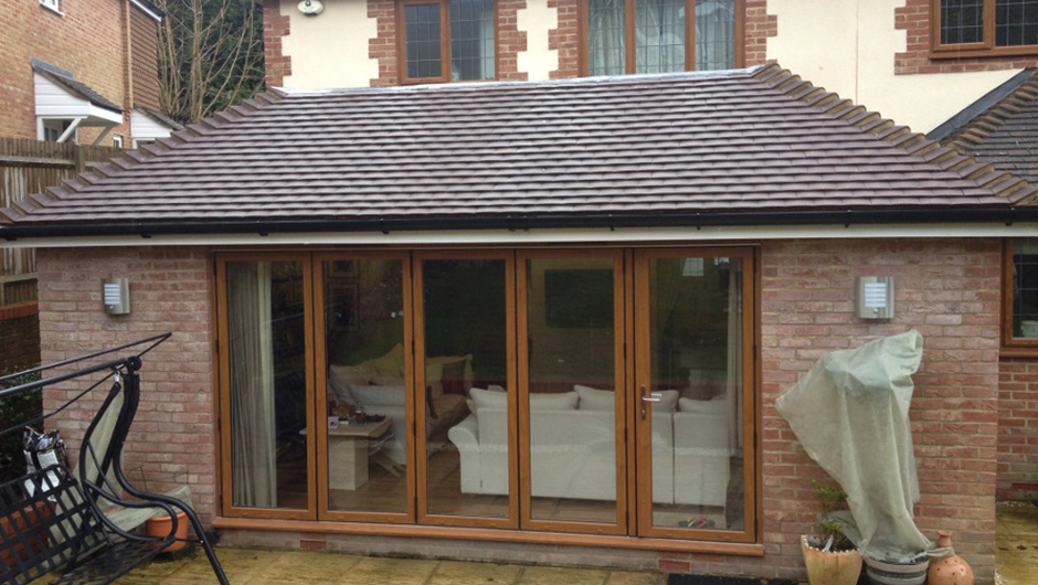 P Major and Daughters - Rear Extension 1