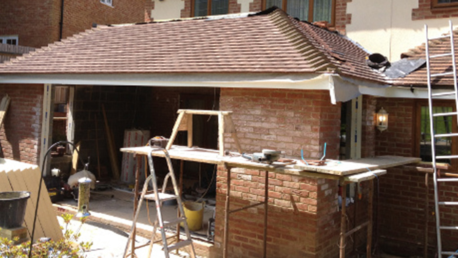 P Major and Daughters - Rear Extension 2