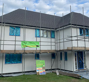 P Major and Daughters First Floor Extension